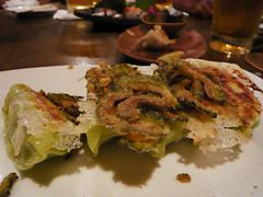 Day3-Dinner-藏-天下無敵流珉珉煎餃(沖繩苦瓜味GOYA)