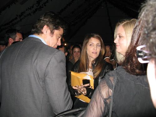 Benicio chats with YFF members