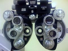 Getting mah eyes checked