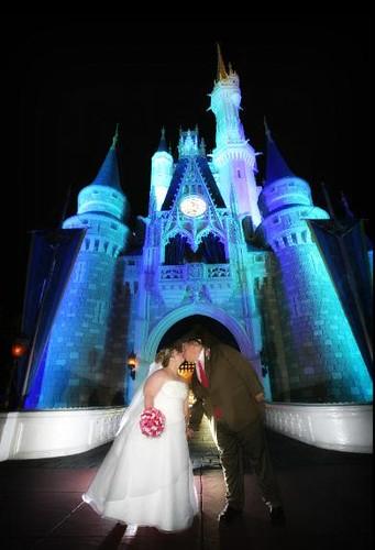 Magic Kingdom Bridal Portraits by you.