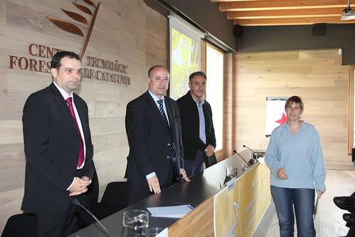 Olga Cuevas, guanyadora del concurs amb el seu projecte: Morralet digital