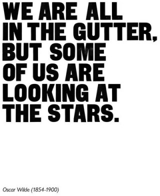 we are all in the gutter