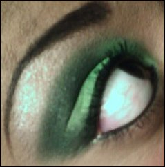 green eye look