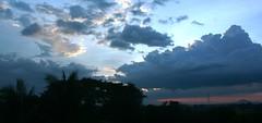 summer solstice (last day) sunset