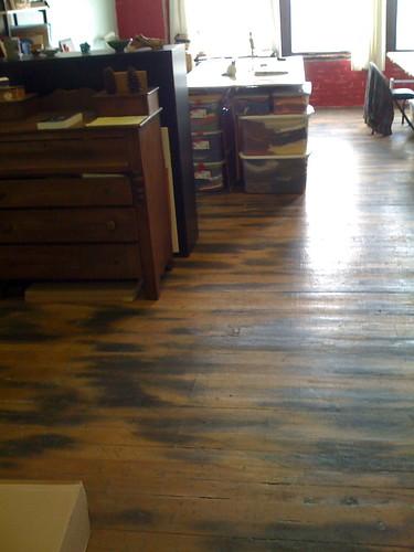 old warehouse flooring