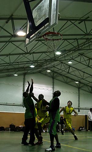 Men's Basketball vs. Leeds Met Carnegie, 3.12.08, Alexandru Hristea (3)