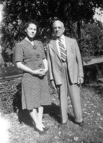 Mom with Grandpop Gus Matacia