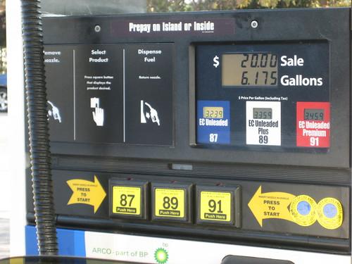 fuel economy gasoline