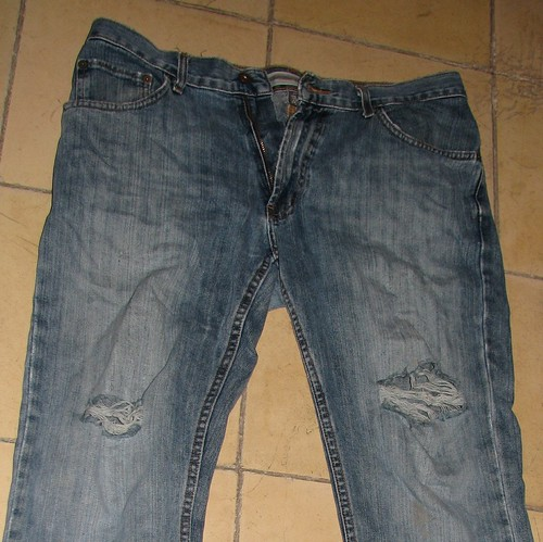 The ragged jeans