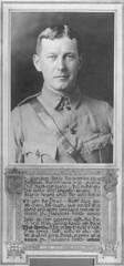 Memorial tribute to John McCrae, copied 1925
