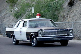 Andy!!! Opie stole the Squad Car