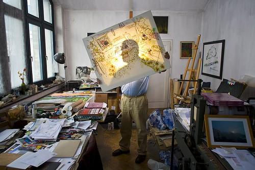 Zmago Jeraj, creative portrait by Borut Peterlin