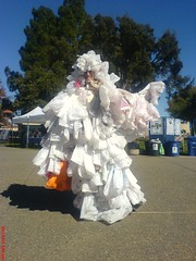 Bag Monster at Bioneers 2007