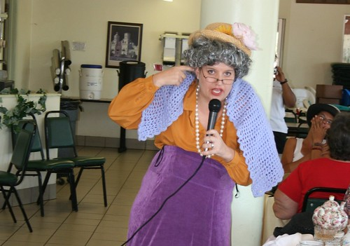 Mrs. Betty Eddicut - High Tea for ladies at UMOM