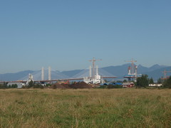 South End of the Golden Ears Bridge