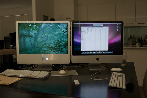 A Tale of Two iMacs