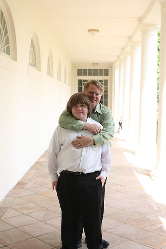 Patrick and Robert in White House