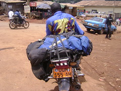 The moto taxi that took me to Fongo-Ndeng.