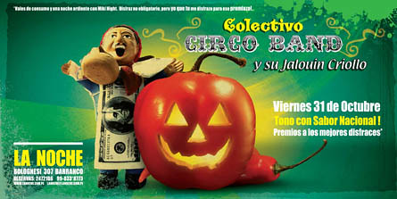 Afiche Colectivo Circo Band