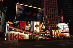 tkts booth, Times Square