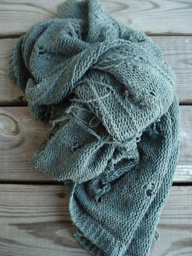 sad old blanket