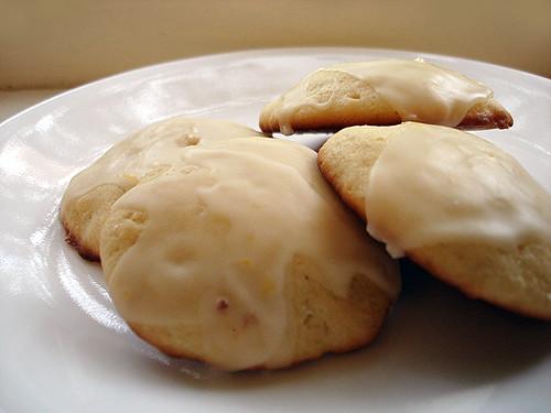 Orange Glazed Cookies