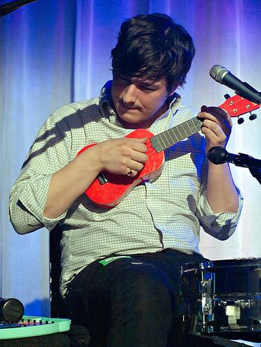 Marcus Mumford - ukulele