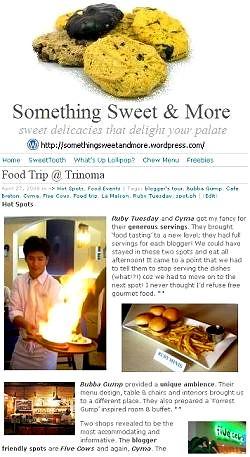 Something Sweet & More WordPress Blog