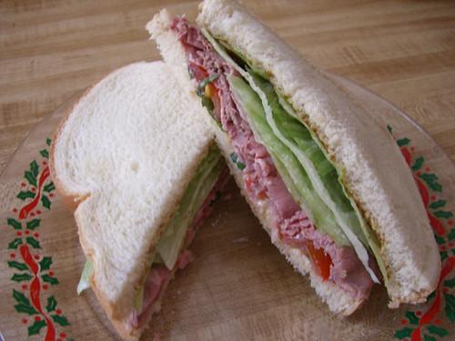 sandwich roast beef