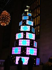 The Sharp Aquos Christmas Tree is a true visual wonder