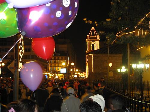 Balloon church