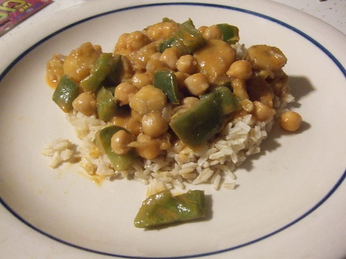 Banana Chickpea Curry!