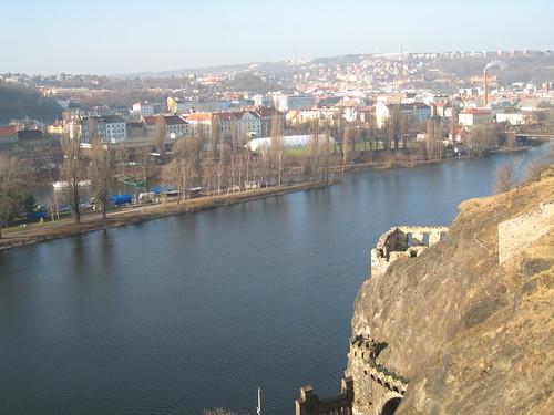 Prague from the Vyšehrad