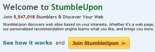 StumbleUpon - Join