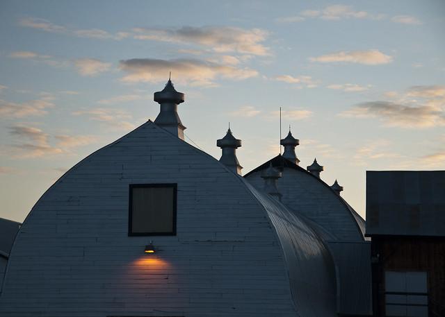 Evening Creamer's Field Barn