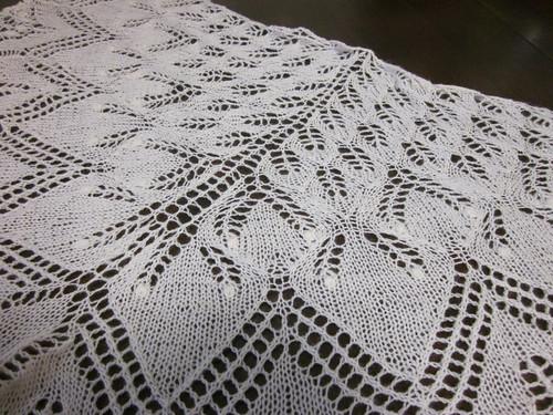 Aeolian shawl detail