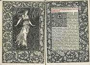 William Morris. The wood beyond the world, kelmscott Press, 1894.