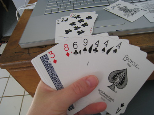 Single Hand Solitaire (6/6)