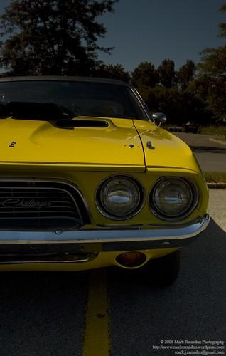 1974 Dodge Challenger - front