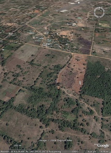 Vavuniya Special Forces HQ from Google Earth