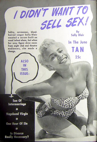 Advertisement for Tan Magazine - Jet Magazine, May 13, 1954 by vieilles_annonces.