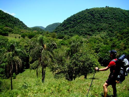 47ª Trilha: Travessia de 2 dias e 45 Km, Arroio Lobato - Quinta do Dom Inácio - Silveira Martins RS - 13 e 14/12/2008 por CLUBE TREKKING SANTA MARIA RS.