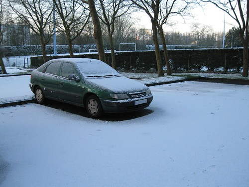 Encore de la neige à Brest !
