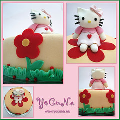 TARTA DECORADA HELLO KITTY