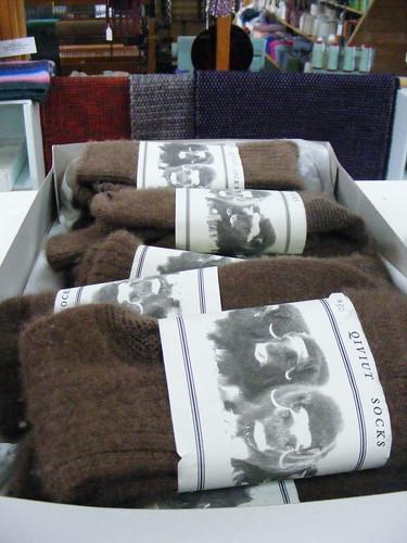 Qiviut Socks