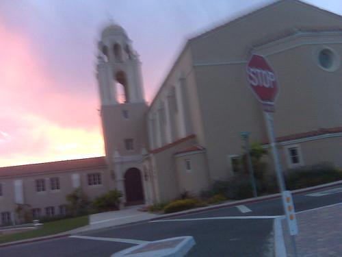 Presbyterian Church Sunset