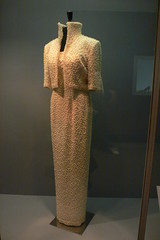 Lady Diana's dress at the V & A museum