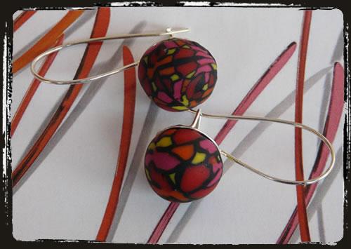 Orecchini multicolore - Multi color earrings IAMERAG