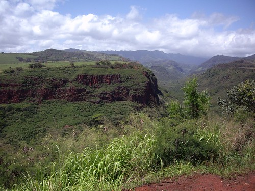 EDGE OF WAIMEA CANYON