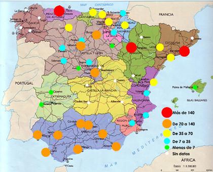 Calidad del Aire en España.